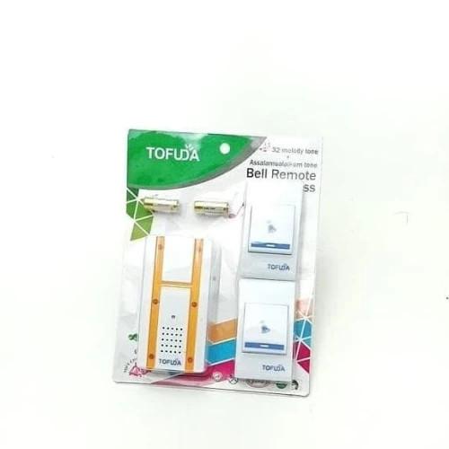 Foto Produk Bel Pintu Wireless 2 Remot/Bel Rumah 2 Tombol/Doorbel Wireless dari ROMANTIS ELEKTRIK