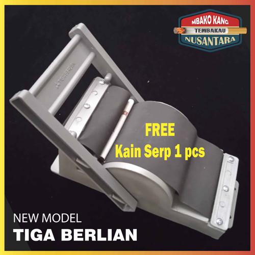 Foto Produk Tingwe Alat Linting SLOROK model Becak ORYGINAL 3Berlian - 1 set + dari Madu Keramat Alyamani
