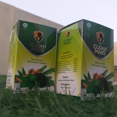 Foto Produk Kapsul gurah Obat Batuk Gurah MAXS Herbal Pereda Batuk isi 60 kapsul E dari kios falah