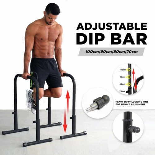 Foto Produk LEBERT EQUALIZER / Mobile Dips Bar dari TORA DOJO MMA SHOP