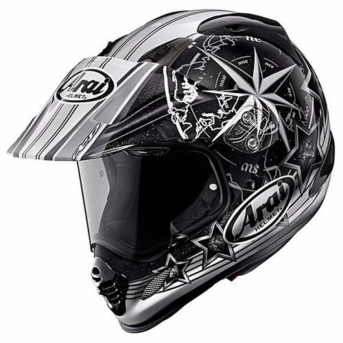 Foto Produk Arai Tour Cross 3 AURORA Original Helm Full Face - Black - S dari Arai Indonesia