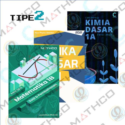 Foto Produk Bundle Tipe 2 (MATHCO 1B + CHEMPRO 1A + PHIWIKI JILID 1) dari Mipa-Mart ITB