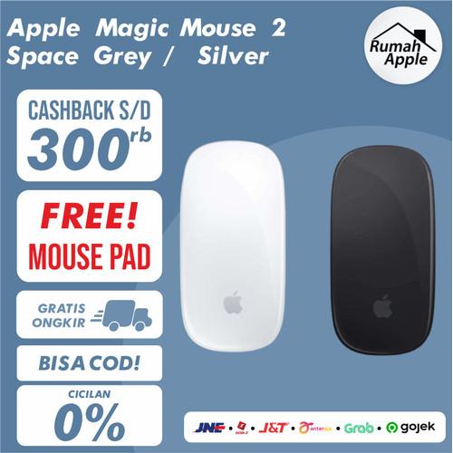 Foto Produk APPLE Magic Mouse 2 BNIB - RESMI Inter, Silver dari New RumahApple