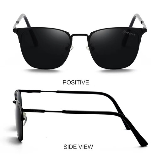 Foto Produk Grey Jack/ Kacamata Hitam Pria dan Wanita / Sunglasses /1610 - C2 full back dari Grey Jack