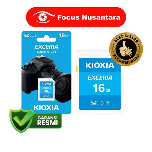 Foto Produk KIOXIA SDHC 16GB Class 10 UHS-1 Exceria 100MB/s dari Focus Nusantara
