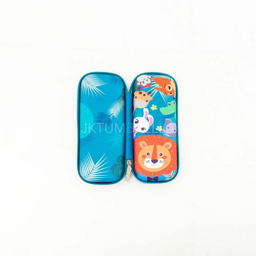 Foto Produk Kotak Pensil Anak / Tempat Pensil Anak Hardcase Smiggle Mini Karakter - Animal dari jktumbrella