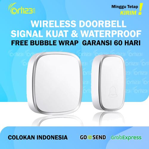 Foto Produk Bel Rumah Wireless Door Bell Pintu Doorbell Waterproof - 1 Receiver dari Ori123com