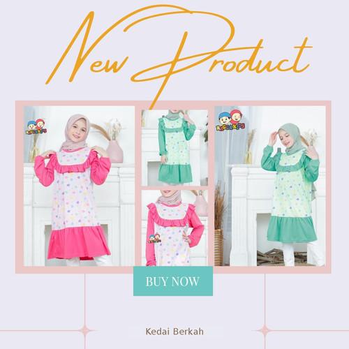Foto Produk Tunik Kaos Anak RT-03 by Raggakids dari kedai berkah