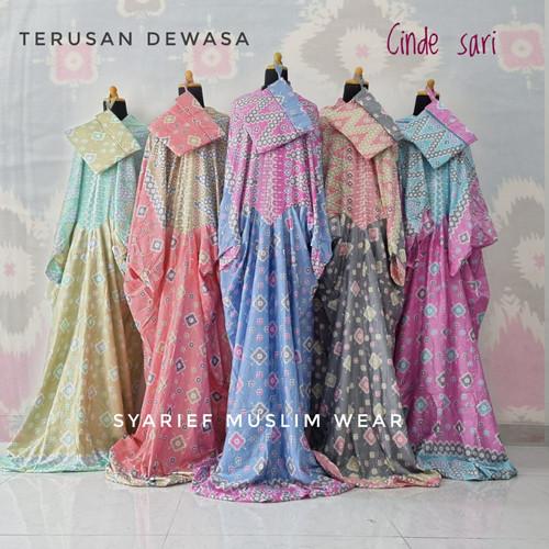 Foto Produk Mukena Katun Bali Super - Model Terusan (100% Asli) dari Syarief Muslim Wear