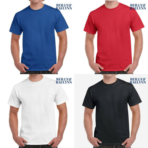 Foto Produk Baju Kaos Polos Unisex Short Sleeves Polyester - Dewasa Lengan Pendek - Putih, S dari Reilly & Raelynn