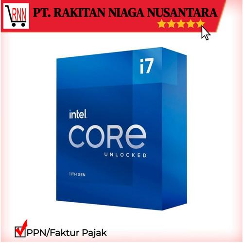 Foto Produk Intel Core i7-11700K 3.6Ghz Up To 5.0Ghz - Cache 16MB [Box] Socket LGA dari Rakitan Official