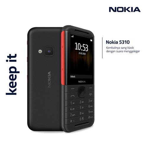 Foto Produk Nokia 5310 (2020) - Black/Red dari Nokia Mobile Official