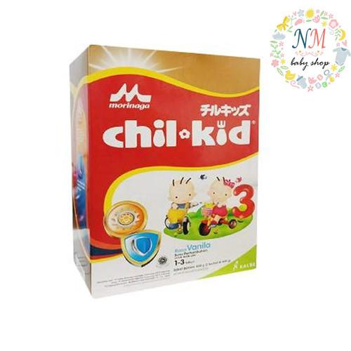Foto Produk MORINAGA CHILKID REGULER VANILA MADU 1600 GR SUSU CHIL KID GOLD 1600gr - Vanila dari NMbabyshop