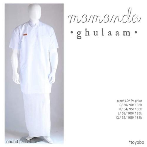 Foto Produk Kurta Remaja/Dewasa All White Ghulam Nadhif by Mamanda dari kedai berkah