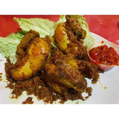 Foto Produk Ayam Goreng dengan Sambal Bajak dari Bumbu Hay