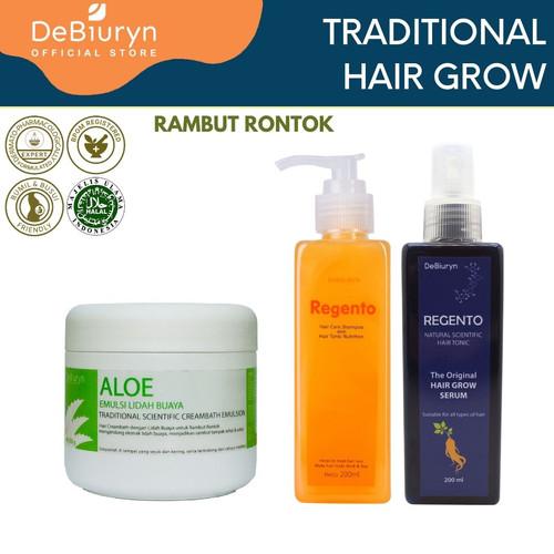 Foto Produk DeBiuryn Traditional Pack Hair Grow- Paket Perawatan Rambut Rontok dari Debiuryn Dermacosmetics
