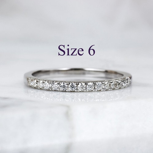 Foto Produk Alice - Cincin Moissanite Silver Ring by AR Signature - 6 dari AR Signature Official