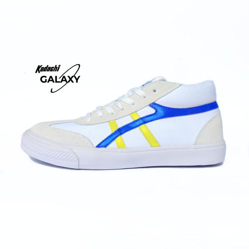 Foto Produk Sepatu Kodachi Galaxy – Putih Biru Kuning dari yk raya