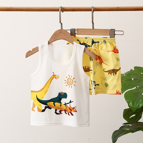 Foto Produk Baju Bayi Kaos Anak Setelan Singlet Kutang Laki Perempuan Piyama Dalam - 7, 80 dari Loveydovey Case Shop
