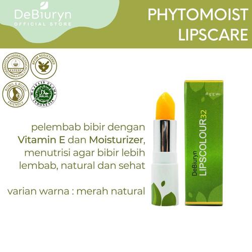 Foto Produk DeBiuryn 32 Merah Natural - Lip Care Natural Vitamin E Lip Balm dari Debiuryn Dermacosmetics