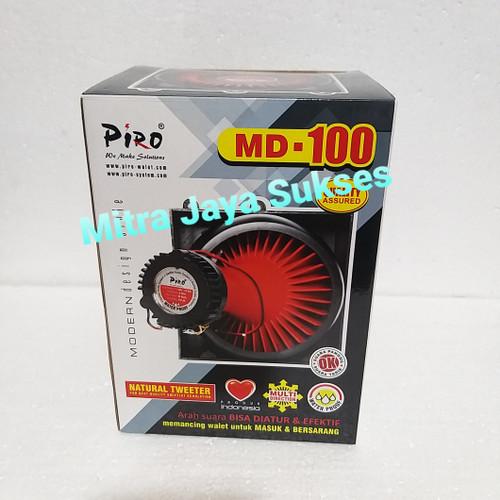Foto Produk Tweeter Putar Piro MD 100 Anti Air Tweeter Magnet Walet dari Mitra Jaya Sukses
