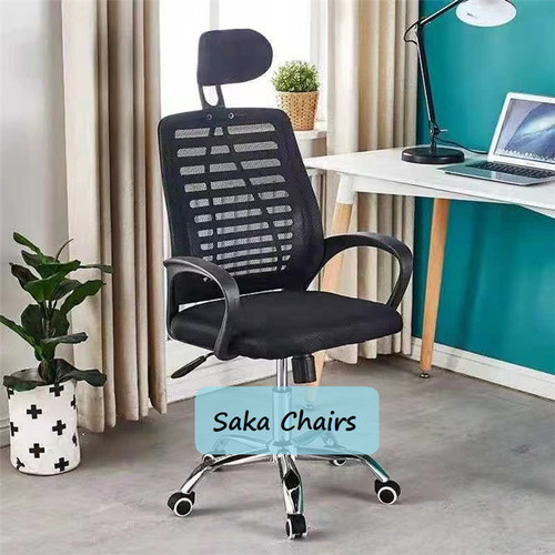 Foto Produk Kursi kantor,kursi staff,kursi kerja,kursi direksi - Hitam dari Saka Chairs