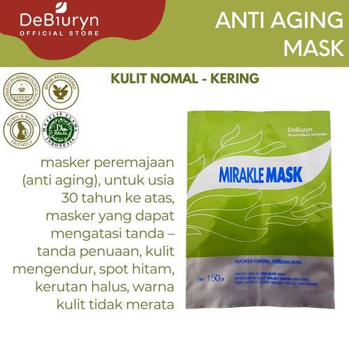 Foto Produk DeBiuryn Mirakle Mask 150gr dari Debiuryn Dermacosmetics
