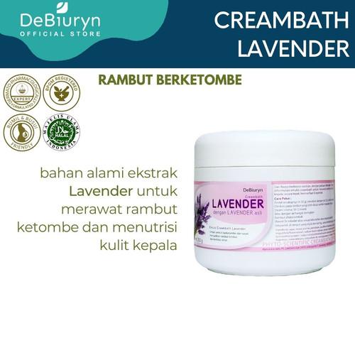 Foto Produk DeBiuryn Lavender Phyto Scientific Creambath 350gr - Rambut Ketombe dari Debiuryn Dermacosmetics
