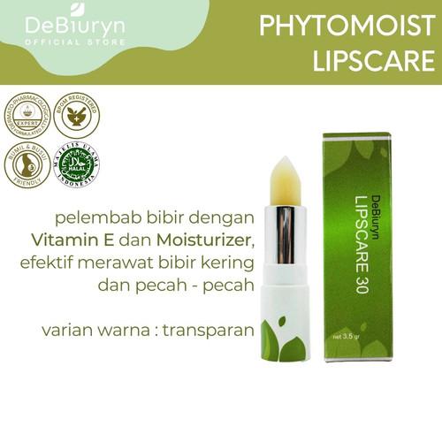 Foto Produk DeBiuryn Lipscare 30 3.5gr - Transparan - Lipbalm - Pelembab Bibir dari Debiuryn Dermacosmetics