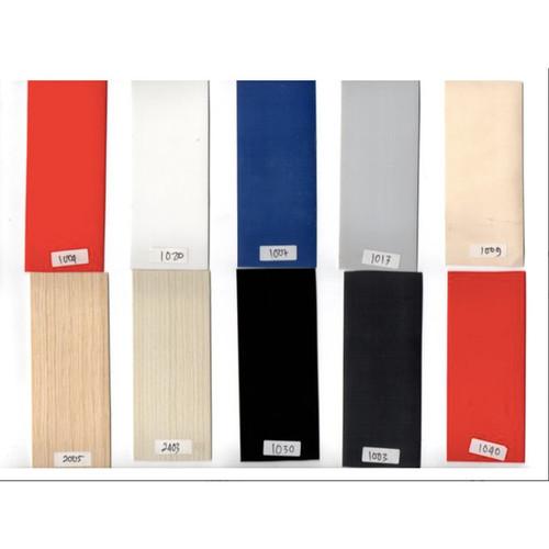 Foto Produk Edging PVC Lebar 55 mm x 1 mm Warna Solid Glossy - HITAM KILAP dari WINSTON-OK OFFICIAL STORE