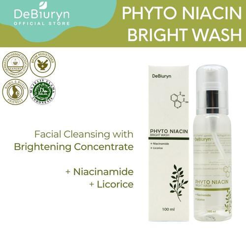 Foto Produk DeBiuryn Phyto Niacin Bright Wash 100ml dari Debiuryn Dermacosmetics