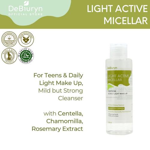 Foto Produk DeBiuryn Phyto Light Active Micellar 150ml dari Debiuryn Dermacosmetics