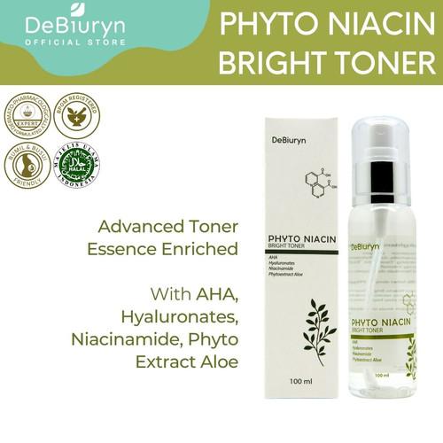 Foto Produk DeBiuryn Phyto Niacin Bright Toner 100ml dari Debiuryn Dermacosmetics