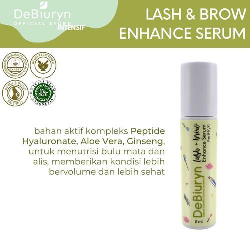 Foto Produk DeBiuryn Eyelash and Brow Enhance Serum 8ml - Serum Bulu Mata - Alis dari Debiuryn Dermacosmetics