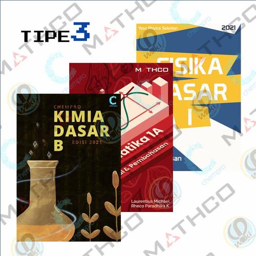 Foto Produk Bundle Tipe 3 (CHEMPRO B + MATHCO 1A + PHIWIKI JILID 1) dari Mipa-Mart ITB
