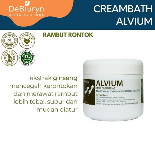 Foto Produk DeBiuryn ALVIUM Clinical Scientific Hair Creambath 350gr-Rambut Rontok dari Debiuryn Dermacosmetics