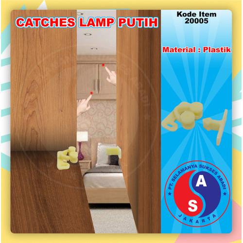 Foto Produk Catches Lamp Putih Jepit Capit Udang Bahan Plastik Putih / 20005 dari WINSTON-OK OFFICIAL STORE