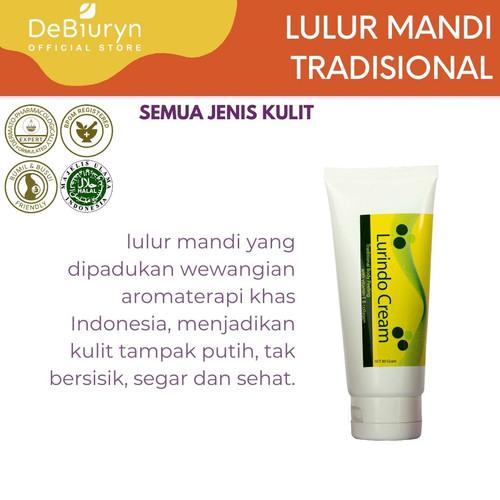 Foto Produk DeBiuryn Lurindo Cream 80gr - Lulur Mandi dari Debiuryn Dermacosmetics
