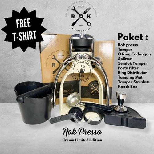 Foto Produk Paket Rok Presso GC / Rokpresso + tamper + tamping mate + knock box - Abu-abu dari Alat Kopi Bandung