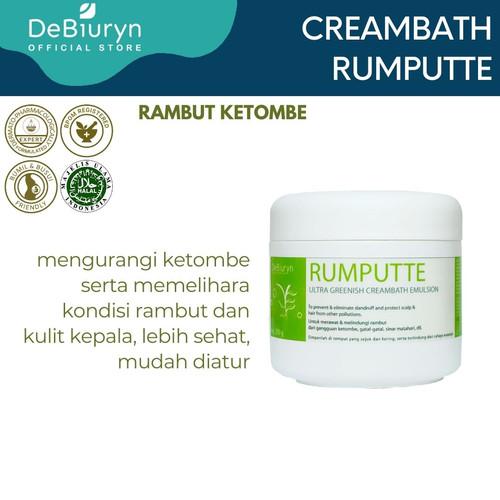 Foto Produk DeBiuryn Rumputte Ultra Greenish Creambath 350gr - Anti Ketombe dari Debiuryn Dermacosmetics