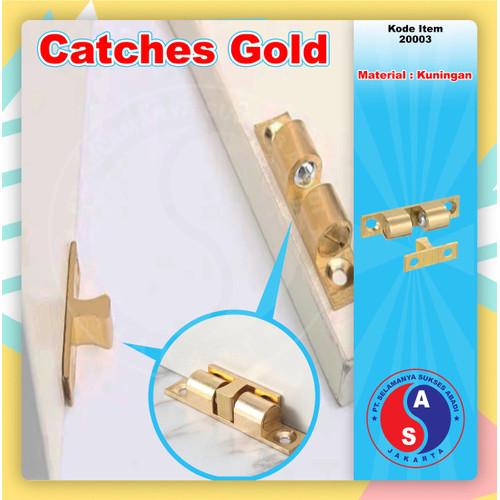 Foto Produk Catches Gold Kecil 40 mm Jepit Capit Udang Kuningan 4 cm / 20003 dari WINSTON-OK OFFICIAL STORE