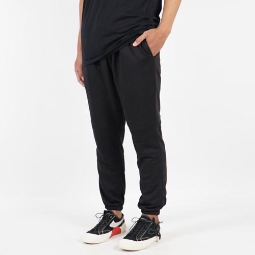 Foto Produk Kepomp Celana Jogger Sweatpants Tracking Pants Hitam Unisex - S dari KEPOMP