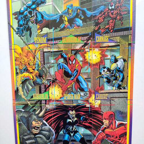 Foto Produk Marvel Universe 1993 Spider-man Trading Cards Set of 9 cards dari Charu Toys