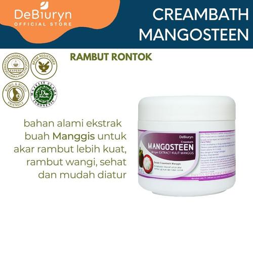Foto Produk DeBiuryn Mangosteen Phyto Scientific Creambath 350gr - Rambut Rontok dari Debiuryn Dermacosmetics