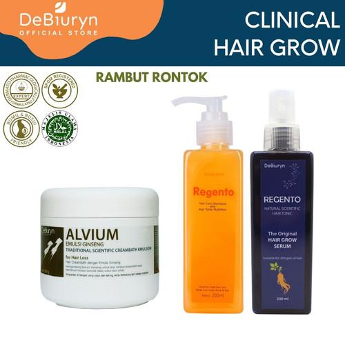 Foto Produk DeBiuryn Clinical Pack Hair Grow - Paket Perawatan Rambut Rontok dari Debiuryn Dermacosmetics
