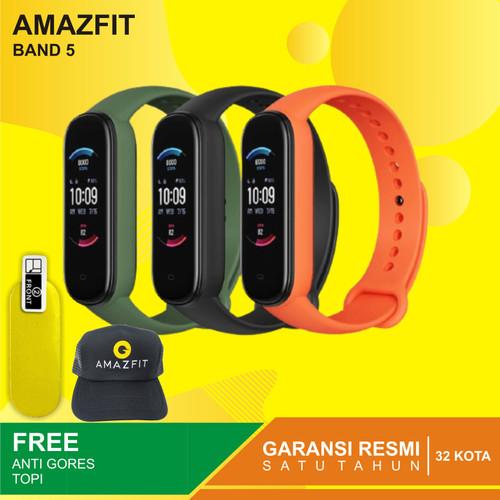 Foto Produk Amazfit Band 5 Smartwatch Stay Active Stay Young spO2 - Garansi Resm - Orange dari Kardel Shop