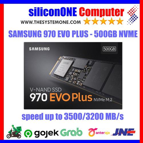 Foto Produk Samsung SSD 970 EVO PLUS NVMe M2 500GB 970EVO 500 dari silicon ONE Computer