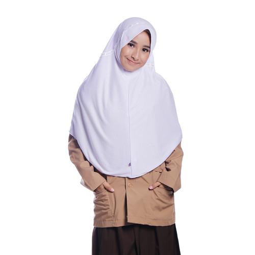 Foto Produk Rabbani - Kerudung Insta Hemy - Putih, S dari Rabbani Official