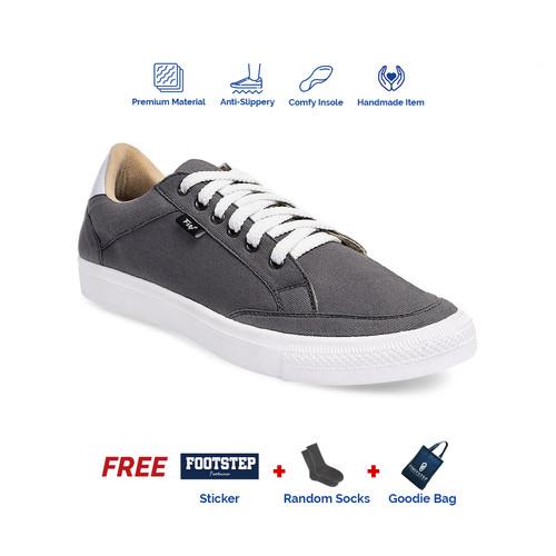 Foto Produk Sepatu Sneakers Pria Footstep Footwear - Arka Grey - Abu-abu, 40 dari Footstep Footwear