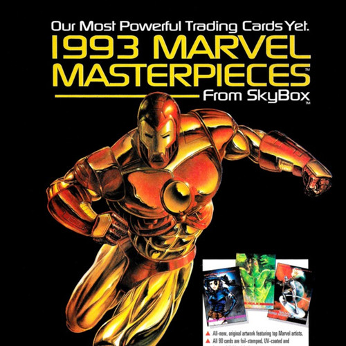 Foto Produk 1993 Marvel Masterpieces complete set of 89 trading cards dari Charu Toys